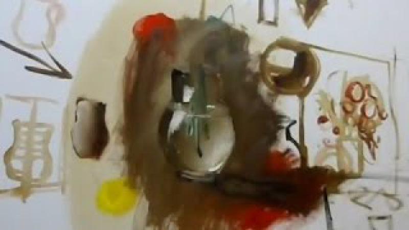 Vases and pots in a still-life. Painting Training   Вазы и горшки в натюрморте. Обучение живописи