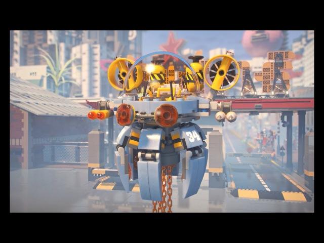 Конструктор Ninjago Movie Bela 10725 (аналог Lego 70610) Летающая подводная лодка 368 дет