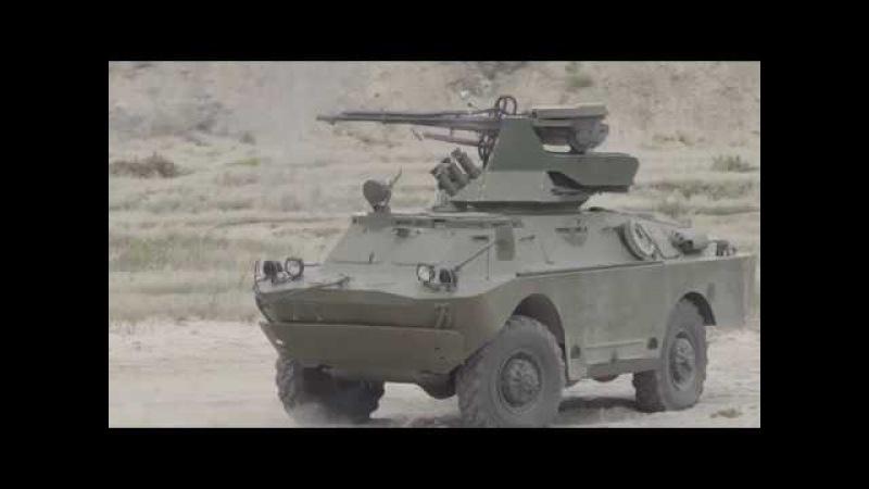 Випробування бойового модуля БМ-23-2 на шасі БТР-60Т та БРДМ-2