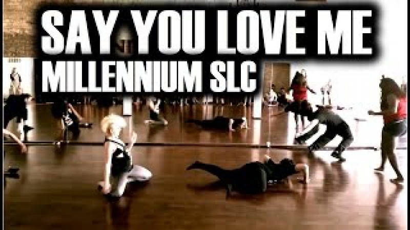 Say You Love Me by Jessie Ware Choreography at Millennium SLC