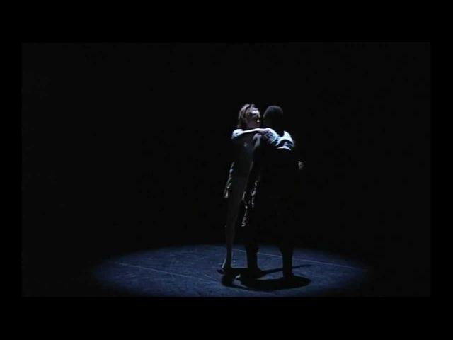 Verity Hopkins and Dickson Mbi in Surface Tension choreographer Briar Adams