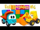 Leo the Truck Full Episodes 6. Car Cartoons.