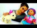 Video für Kleinkinder 👶 Chi Chi Love 🐩 und Baby Emily im Spielzeugladen 🛍️ Baby Born Video
