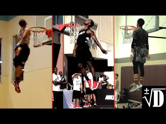 The HIGHEST Jumpers in Dunking! Best Height Check Compilation!