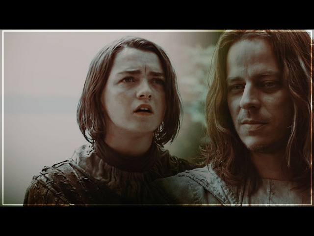 ▲Jaqen H'ghar X Arya Stark-You Should Know Where I'm Coming From