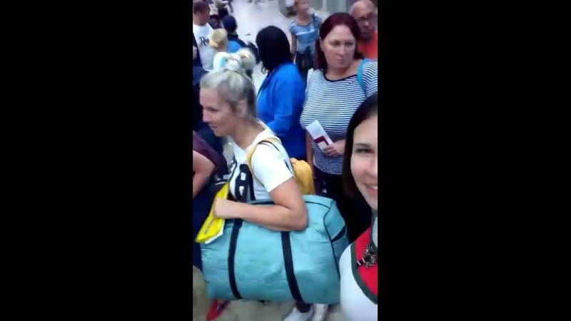Ха, ну оооочень хорошо отдохнули!) не удивительно, что нас в Пермском аэропорту с собаками встречали😂