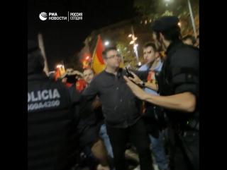 Реакция на резолюцию о независимости в Барселоне
