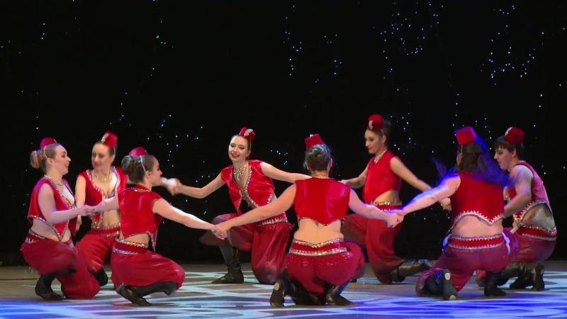 Арабский танец Дабка,стилизация. Хореография и костюмы Халифа