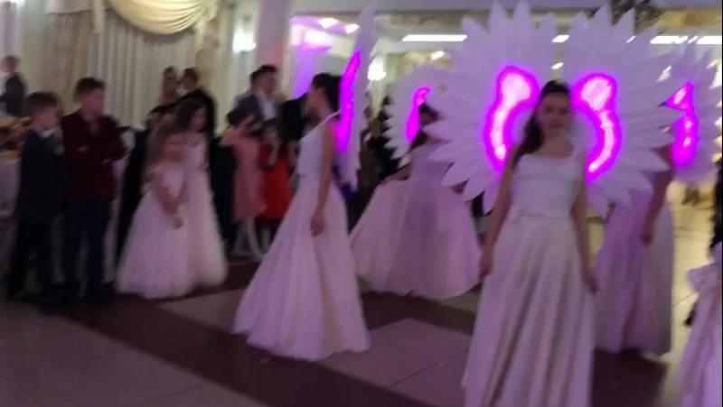 Шоу - балет Jazz Band ПРЕМ'ЄРА нового танцю «Янголи» , весільний зал «Діана» Керівник - Швайгер Беата