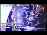 Видео вооруженного нападения на продуктовый магазин