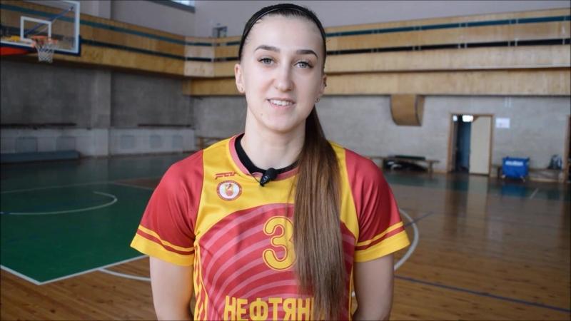 Настя Алексеева приглашает болельщиков на матчи с Политехом-СамГТУ