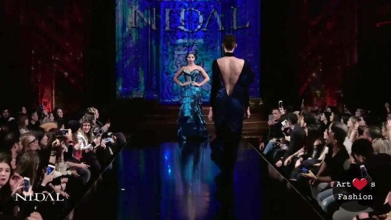 Nidal Nouaihed New York Fashion Week Powered by Art Hearts Fashion NYFW FW-18