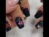 Роскошный зимний дизайн ногтей!