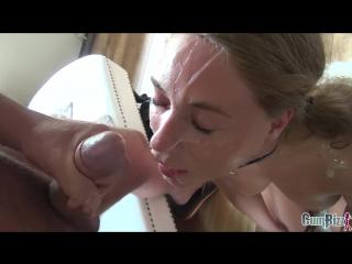 [cumbizz.com] kate - kate's facial punishment [hd 1080, blowbang, bukkake, sperm, swallow, hardcore, oral, сперма, буккаке]
