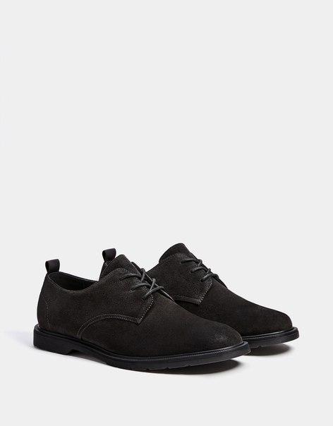 КОЖАНЫЕ туфли со шнуровкой