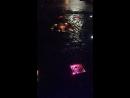 Музыкальный фонтан.В дождь только музыка и подсветка.