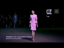 Коллекция Александра Рогова на Неделе моды в Москве