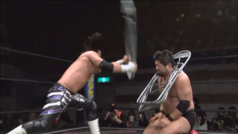 Daisuke Sasaki vs. Shuji Ishikawa (DDT - D-Ou Grand Prix 2018 - Day 5)