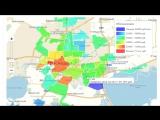 Примерные цены на недвижимость в г Краснодаре, наглядно по районам города, видео обзор