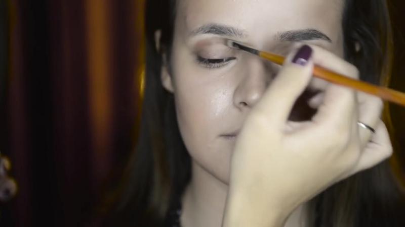 Вечерний макияж creme smoky eyes