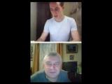Видеочат  ( Он похож на него ) Родион Газманов в чате и Геннадий Горин