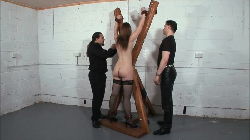 Flogged on the cross