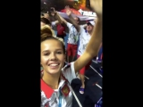 Instastory: Ekaterina Selezneva (29th Summer Universiade, Taipei - 27-29.08.2017)