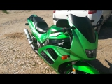 suzuki rf 400 candy green apple