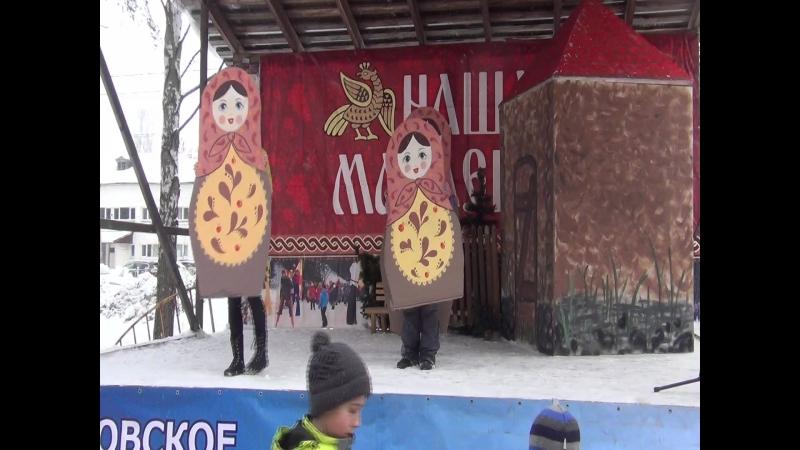 Масленица в Токсово 18 02 18 танец матрешек