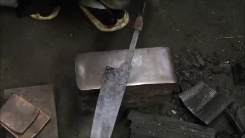 Традиции ковки клинков японских ножей Мастер класс от кузнеца Киоши Като