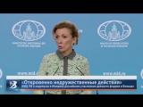 Откровенно недружественные действия.  МИД РФ о недопуске в Молдову российских участников делового форума в Бельцах
