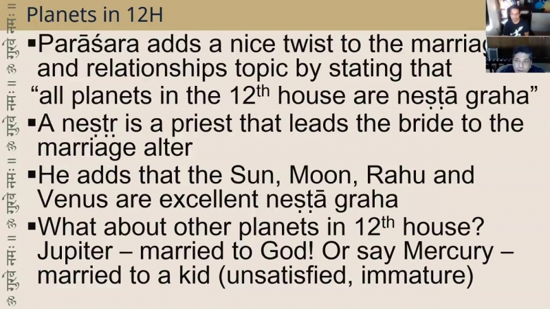 Pt. Sanjay Rath on Marriage 12th house in Vedic Astrology