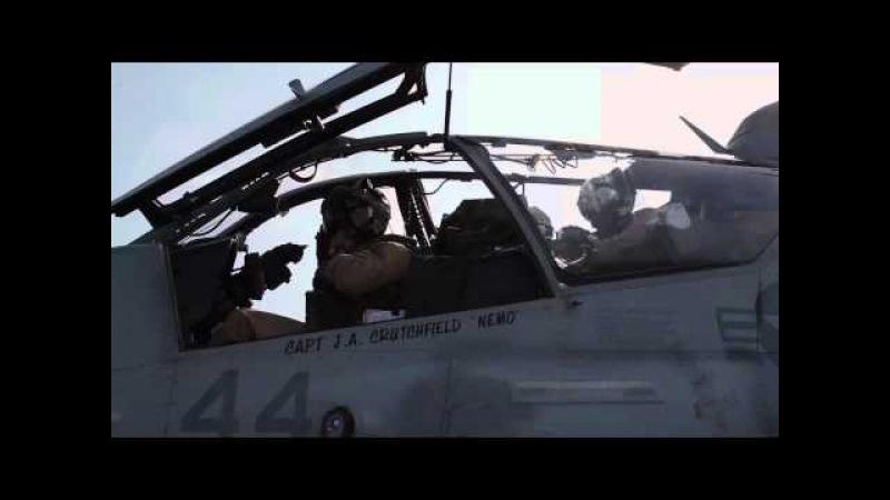 AH-1W Super Cobra Flight Operations - USS Iwo Jima