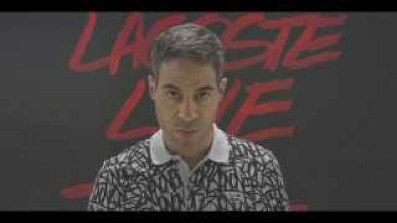 JonOne x Lacoste L!VE Collaboration Film