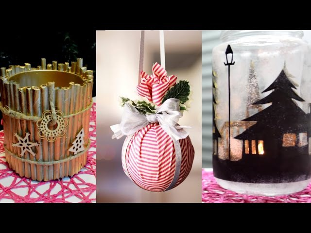 15 CHRISTMAS WINTER DIY Projects [Simple crafts and ideas]