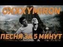Песня в стиле OXXXYMIRON за 5 минут НА КОЛЕНКЕ