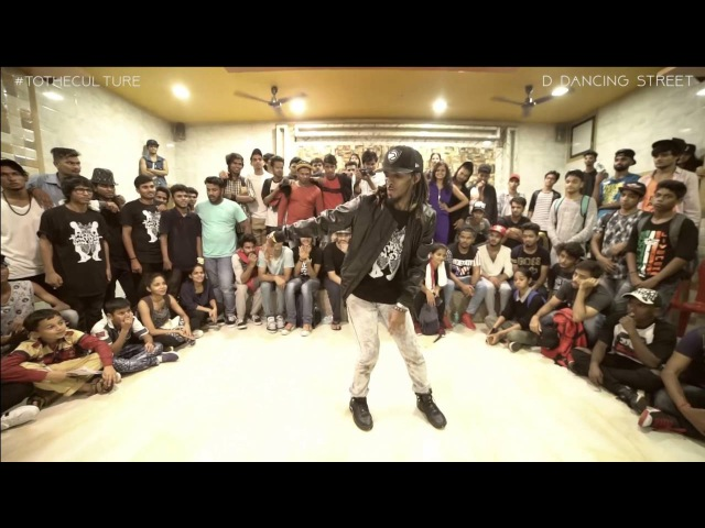 NONSTOP AKA Marquese Scott in INDIA - Best Freestyle Street Dancer in the World