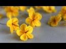 How to make a felt ume blossom flower (Cách làm hoa mai hoa đào bằng vải dạ nỉ)