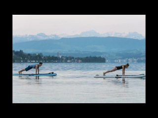 Сап-йога в Цюрихе