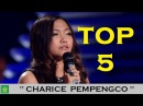 Top 5 Charice Pempengco covers