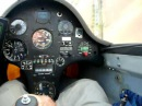 ASW20CL-J powered by PSR T01 | in flight | cockpit view
