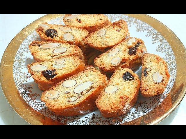 Бискотти Кантуччини. Вкусное Итальянское Печенье.