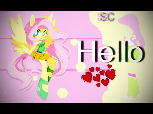 Hello | For mlp brony LoVe pie | PMV (For competition) [50fps]
