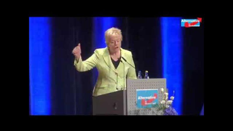 Erika Steinbach unterstützt die AfD - Ich bin nicht bereit, das in unserem Land zu akzeptieren!