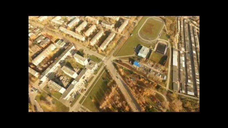 Бердск с высоты , квадрокоптер DJI Phantom 3