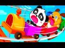 Малыш Панда в Парке Аттракционов.Карнавал Развлечений и Игр для Панды и его Друз...