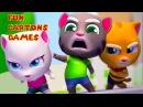 Говорящий Кот Том ПОГОНЯ ЗА ЗОЛОТОМ. Мультик игра для детей. Игровой мультфильм