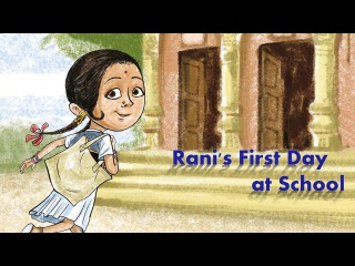 स्कूल का पहला दिन : Learn Hindi with subtitles - Story for Children