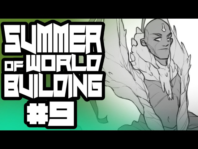 Summer of World Building 9 - Priest Class Character Designs