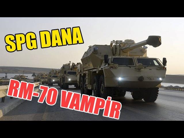 Azərbaycan Ordusunun Ən Yeni Silahları - DANA RM-70 VAMPİR